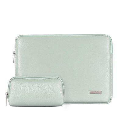 手拿包皮革電腦包-簡約純色加絨商務男女包包2色73vy36[獨家進口][米蘭精品]