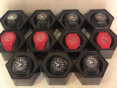 紅色款全新 CASIO G-SHOCK GA-2100TH-1ADR 聖誕節 GUCCI GA-2100