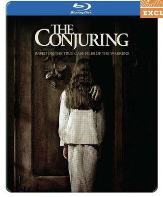 毛毛小舖--藍光BD 厲陰宅 FYE獨家限量鐵盒版 The Conjuring