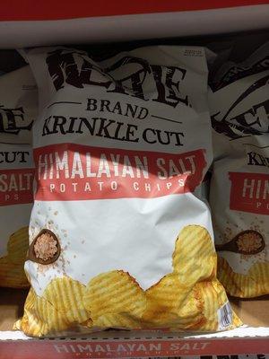 COSTCO好市多代購~『KIRKLAND』科克蘭喜馬拉雅粉紅鹽洋芋片907g包