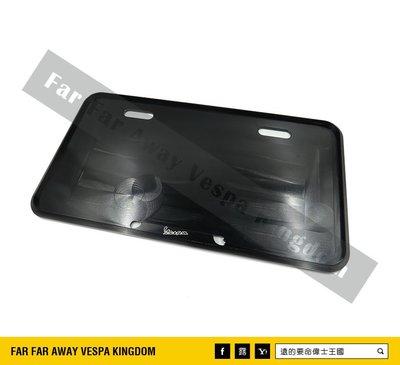 遠的要命偉士王國 Vespa PIAGGIO CNC 鋁合金 牌照框 黃牌 GTS/GTV