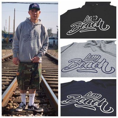 Cover Taiwan 官方直營 Long Beach 西岸 Snoop Dogg 帽T 黑色 藍色 灰色 (預購)