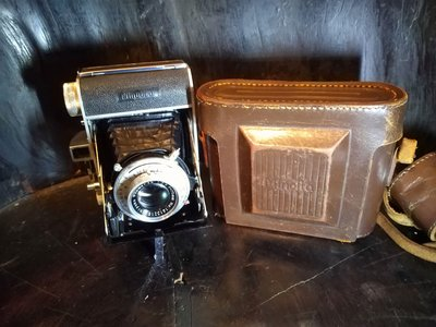 MINOLTA KONAN-FLICKER 古董蛇腹底片相機