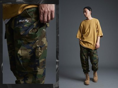 【MASS】Black Flag 16'SS CAMO MILITARY TROUSERS ADMIRAL 迷彩長褲