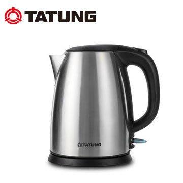 【全館免運費】大同-1.8L不銹鋼電茶壺TEK-1815S(#304不鏽鋼大容量煮水壺)