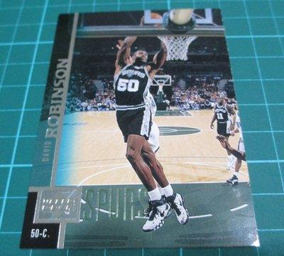 NBA96-97馬刺隊 DAVID ROBINSON球卡
