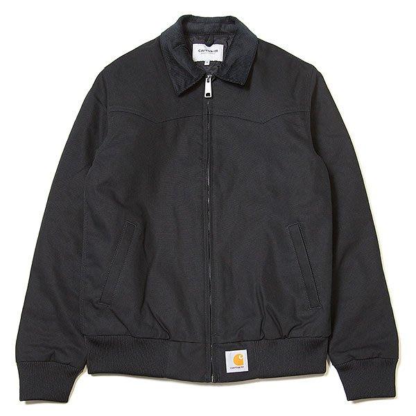 ☆AirRoom☆【現貨】CARHARTT WIP Santa Fe Jacket I023759 夾克 黑色