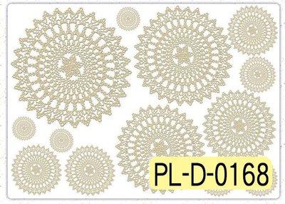 波蘭 Decoupage Paper(專用紙)A3編號PL-D-0168~蝶古巴特 餐巾紙拼貼 彩繪 黏土DIY手作材料