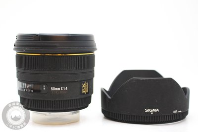 【青蘋果3C競標】Sigma 50mm f1.4 DG EX HSM for SONY A-MOUNT #56343