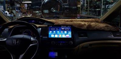 HONDA CIVIC 喜美 8代 (06-12) 2021年新款10.2吋安卓10.0版八核6+128智能導航旗艦車機
