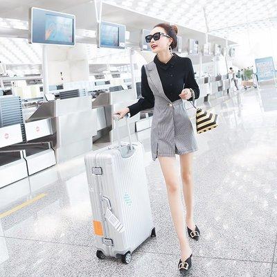 ☆TANG KOREA*╮正韓 時尚連體褲高腰短褲小個子連身褲