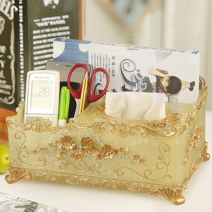 千夢貨鋪-創意多功能紙巾盒遙控器收納歐式可愛簡約抽紙盒衛衛生間廁所紙巾盒#收納盒#牙籤盒#紙巾盒#棉簽盒#創意