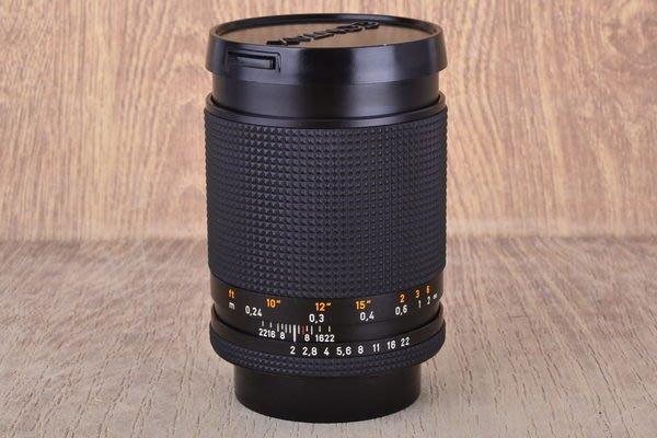 【品光攝影】CONTAX Distagon T* AEG 28mm F2 弱光之王 德製 CY接環 FA#38587J