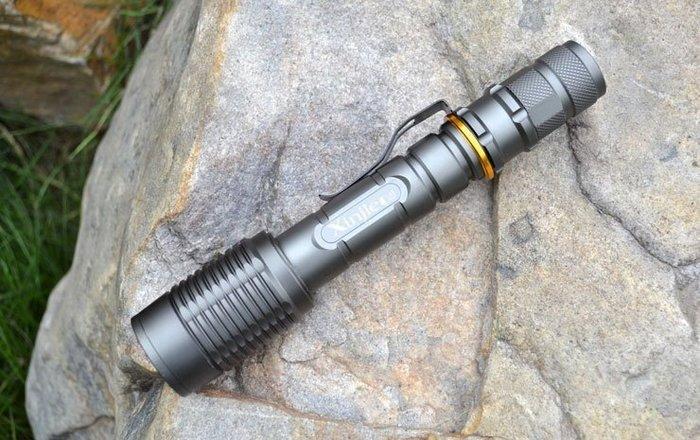 《宇捷》【A13套組】CREE XM-L2 強光手電筒 伸縮變焦 響尾蛇 二顆18650驅動 比Q5 R5 T6 U2 亮