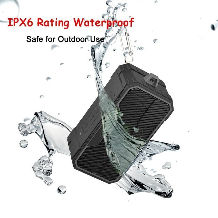 Miteck BS402戶外隨身立體聲藍牙 MP3揚聲器  免持接聽通話 防水