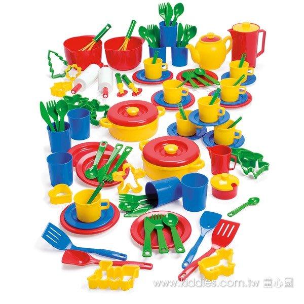 美國dantoy 樂廚工具 豐富多元的家家酒配件,適合多位孩子同樂◎童心玩具1館◎