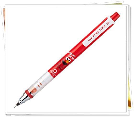 新版 芝麻街 218006  自動轉軸 細字自動鉛筆 0.5 奶爸商城