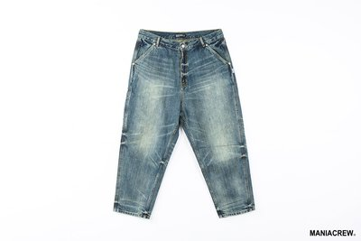 MANIA 2020 A/W Denim Pants Wash