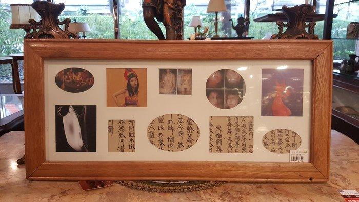 【卡卡頌 歐洲跳蚤市場/歐洲古董】歐洲老件_木框 藝術 掛畫 pa0140