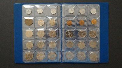 C11 錢幣收藏簿(90pc)藍色