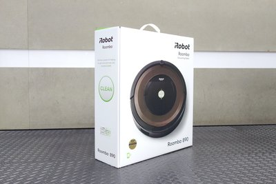 【台中青蘋果】iRobot Roomba 890 掃地機器人 全新品 #36540