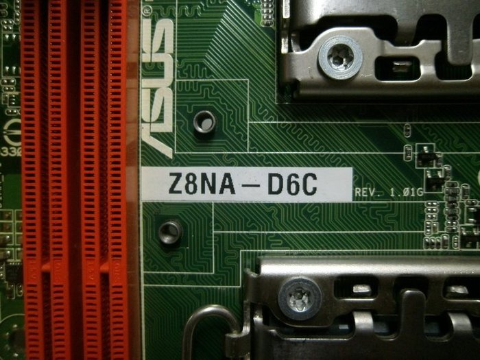 【全國主機板維修聯盟】華碩 ASUS Z8NA-D6C 伺服器 雙U 1366 ☆保固30天☆