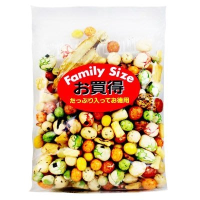 +東瀛go+ 日本進口 [山口製果] 什錦豆果子(豆好) 家庭號260g 豆果子 什錦豆餅乾 日本零食 下酒菜