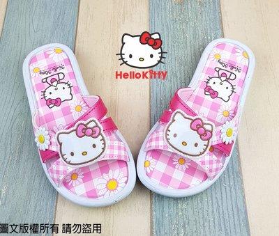 【琪琪的店】三麗鷗 HELLO KITTY 凱蒂貓 女童 童鞋 休閒鞋 拖鞋 輕便鞋 室內鞋 台灣製 粉紅 818123