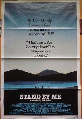 站在我這邊 Stand by Me - 美國原版電影海報(1986年)