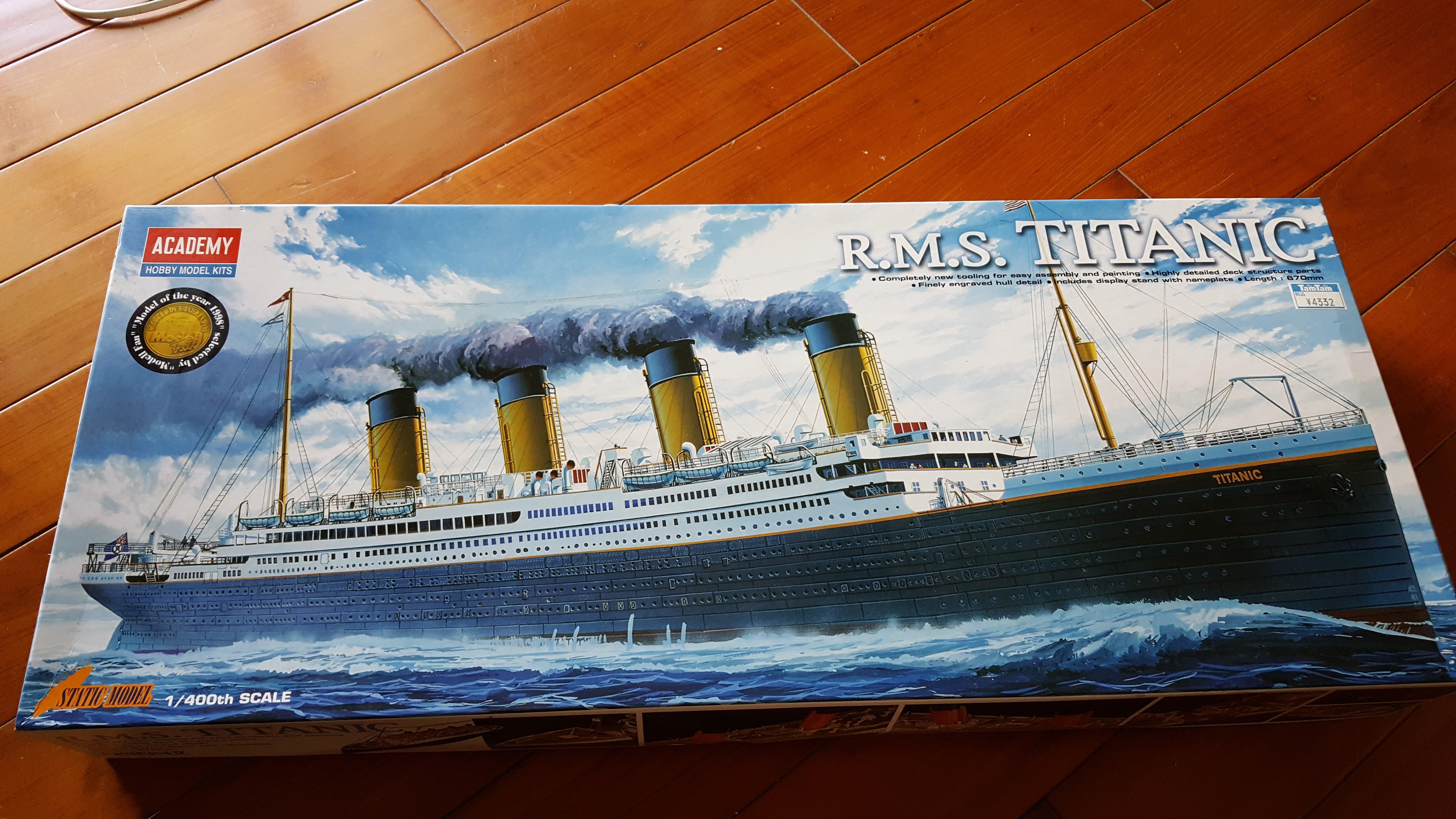 《廣寶閣》ACADEMY 1/400 R.M.S TANIC 英國皇家郵輪 鐵達尼號郵輪