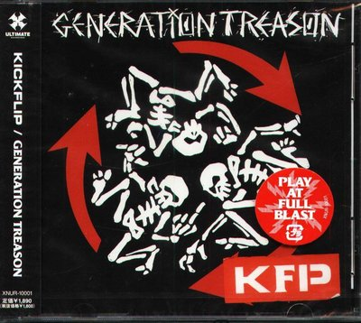 K - KICKFLIP - GENERATION TREASON - 日版 - NEW