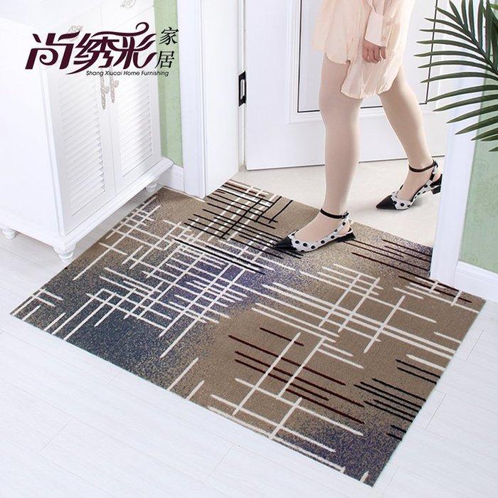 家居布藝地墊進門門口入戶門墊家用臥室腳墊浴室衛生間防滑墊廚房吸水地毯