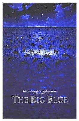 碧海藍天-The Big Blue (1988)授權再版電影海報