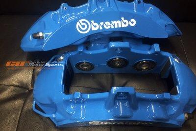 BREMBO ZL1 六活塞卡鉗組 BMW藍 烤漆 玩色 改色 維修 保養 清潔 來令片 碟盤更換歡迎詢問 / 制動改