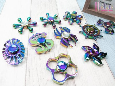 ☆[Hankaro]☆ 流行金屬電鍍幻彩造型系列指尖陀螺手指陀螺
