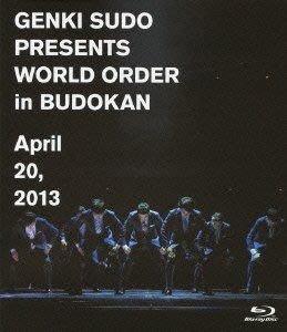 須藤元気 須藤元氣 Presents WORLD ORDER in 武道館 2013 (日版 藍光BD Blu-ray) 全新