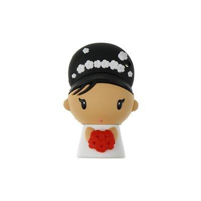 新娘造型隨身碟 - 婚禮小物造型隨身碟 婚禮小物 創意禮品 禮贈品 客製化商品