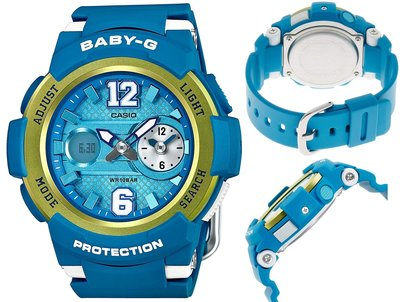 日本正版 CASIO 卡西歐 Baby-G BGA-210-2BJF 女錶 女用 手錶 日本代購