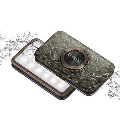 丹大戶外用品【N9】LUMENA2 行動電源照明LED燈 綠迷彩 送燈罩
