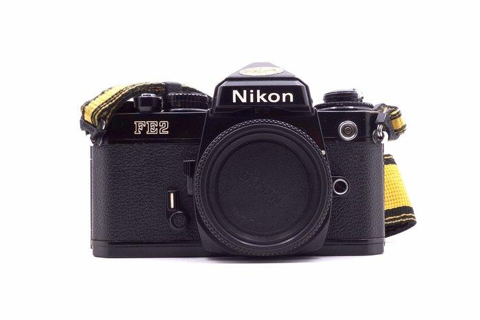 【台中青蘋果】Nikon FE2 單機身 二手 蜂巢式快門簾 底片相機 #26546