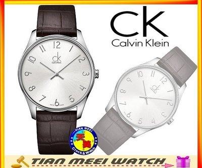 【全新原廠CK】【天美鐘錶店家直營】【下殺↘超低價有保固】Calvin Klein 男時尚超薄錶 K4D211G6