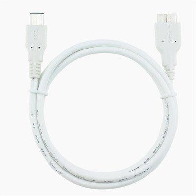 品名: 環保包裝USB3.1Type-C轉Micro-B充電線轉接線(顏色隨機) J-14610