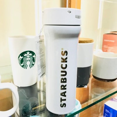 全新 韓國代購 2018 Starbucks 星巴克 JNM 經典白色 480ML 保溫杯 隨行杯 咖啡杯 正品 現貨(可旺角門市取貨)