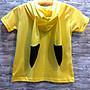 皮卡丘 耳朵造型帽T 親子裝 台灣製造 棉100% T恤