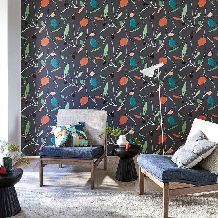 【Uluru】英國期貨壁紙.北歐簡約 OXALIS (4色) 葉子 花卉 植物 壁紙 ES110系列