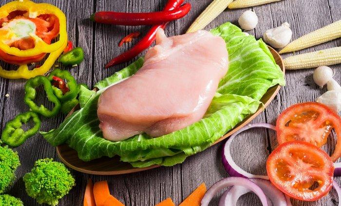 極禾楓肉舖~紅玉附皮雞胸肉~十八養場