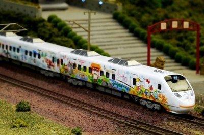 全新 鐵支路 N規 限量版 Hello Kitty 太魯閣號 彩繪列車 下標前先詢問