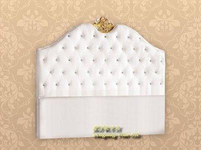 【設計私生活】凡賽斯5尺白色床頭片(全館一律免運費)A系列121 L