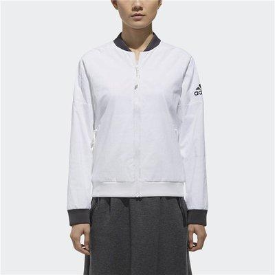 # ADIDAS ID JKT WV 張鈞甯 訓練外套 輕薄外套 透氣 白色 立領外套 運動外套 DM5258 YTS