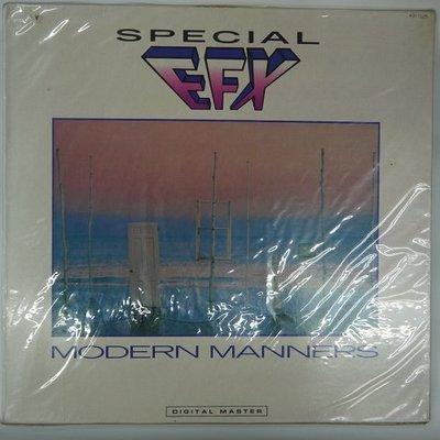 合友唱片 SPECIAL EFX - MODERN MANNERS (1985) 黑膠唱片 LP 面交 自取